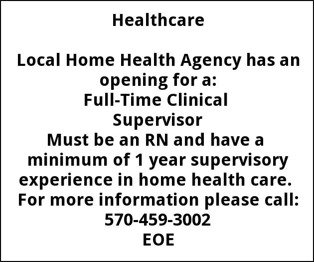 Clinical Supervisor