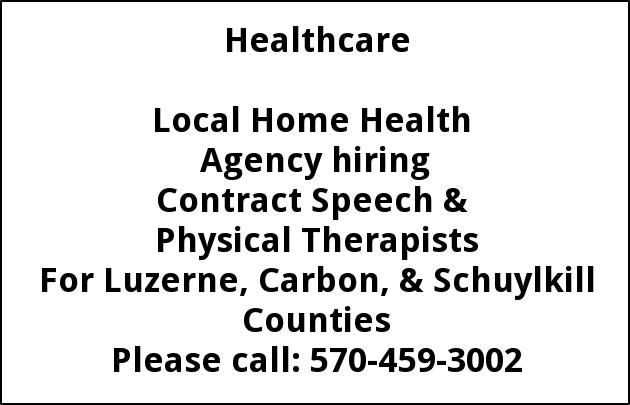 Speech & Physical Therapists, All Care Home Care