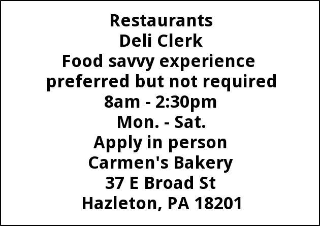 Deli Clerk