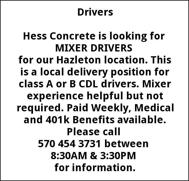 Mixer Drivers