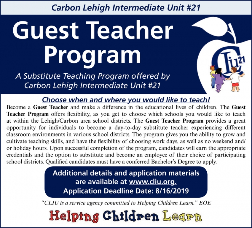 Guest Teacher Program