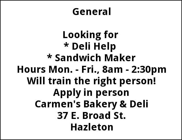Deli Help - Sandwich Maker