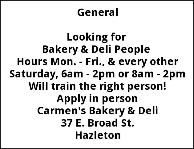 Bakery & Deli People