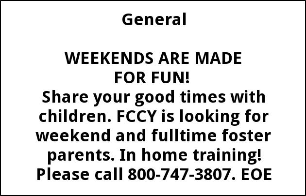 Full Time Foster Parents