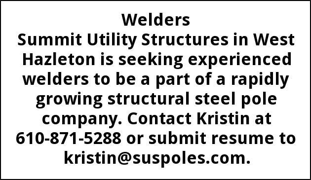 Welders Needed