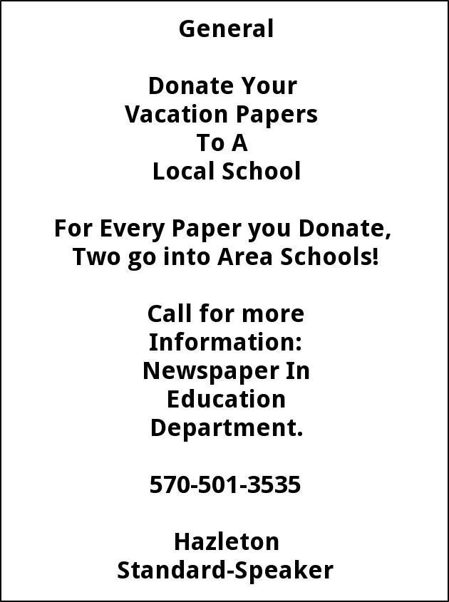 Donate Papers